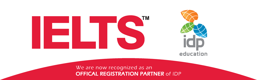 We are now recognized as an OFFICAL REGISTRATION PARTNER of IDP!