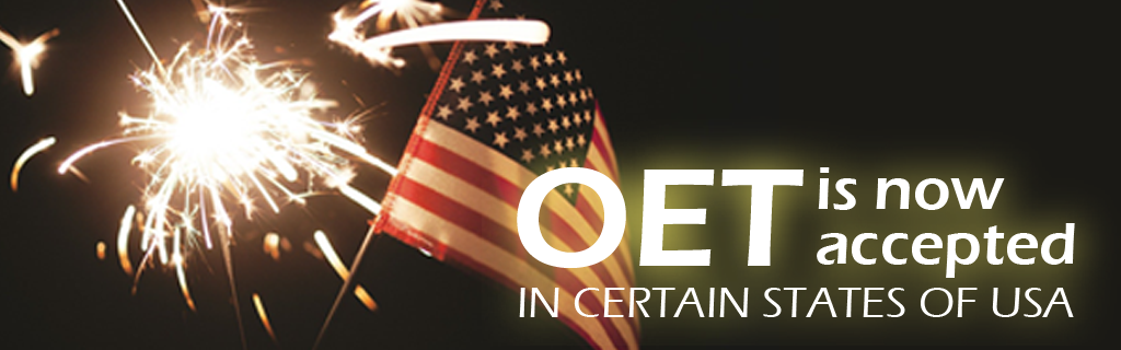 OET is Now Accepted in USA