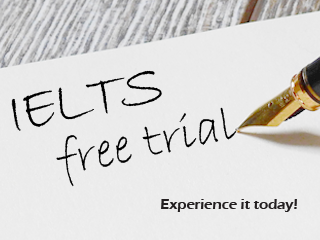 IELTS Free Trial Class. Experience it Today!