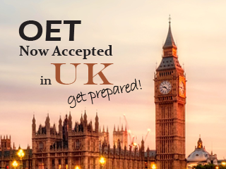 OET Now Accepted in UK