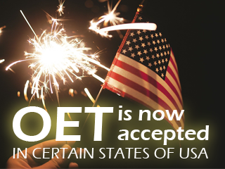 OET Now Accepted in USA